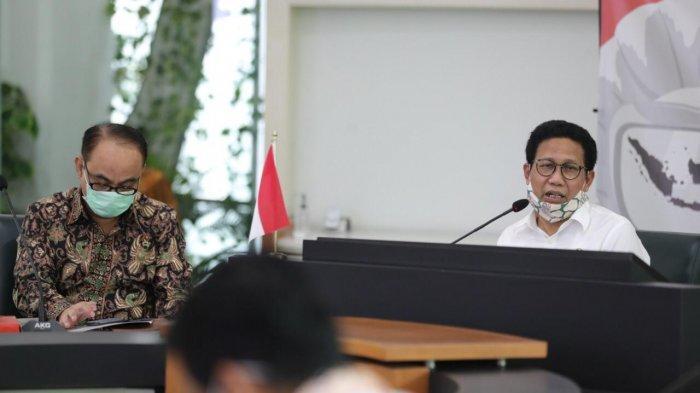 Menteri Abdul Halim Iskandar Beberkan Progres BLT Dana Desa Dihadapan Pimpinan KPK