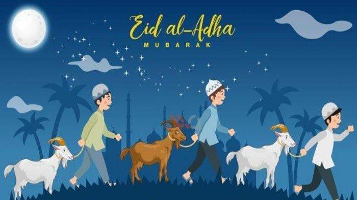 CONTOH Naskah Khutbah Singkat Idul Adha 2021 Terbaru & Khutbah Pimpinan Muhammadiyah Haedar Nashir