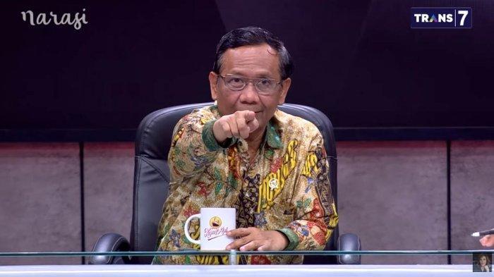 Mau Demo Selasa 20 Oktober 2020, Menkopolhukam Mahfud MD Ingatkan Soal Penyusup