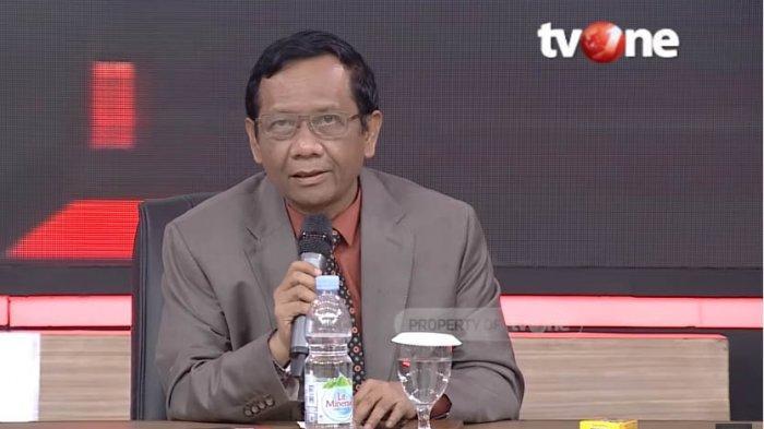 Mahfud MD Bandingkan Pendukung Anies Baswedan & Ahok di ILC TVOne, Juga Kampanye Jokowi & Prabowo
