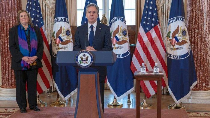 Menlu AS Antony J. Blinken Serukan Pemerintah-pemerintah Bergabung Tangani Perdagangan Orang