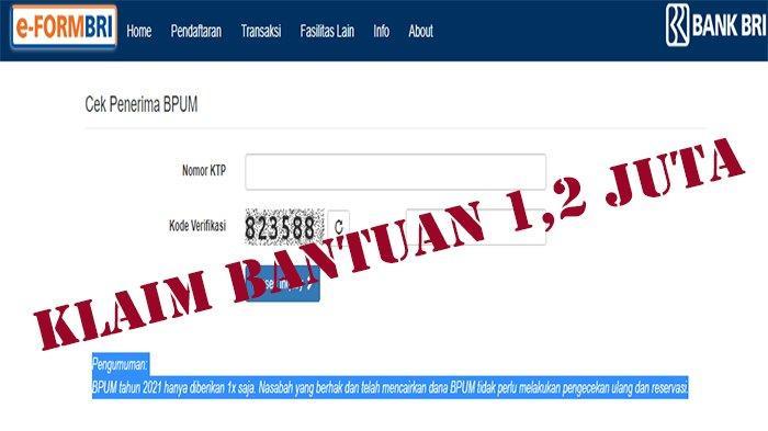 BPUM Kuartal 3 2021 Disalurkan hanya Diberikan 1 Kali, Pastikan Sesuai Cara dan Prosedur Pencairan