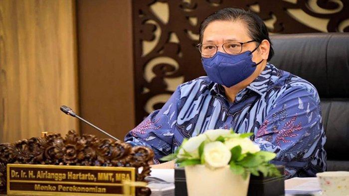 Airlangga Hartarto Puji OJK dan Perbankkan Bantu UMKM Hingga Percepat Pemulihan Ekonomi Nasional