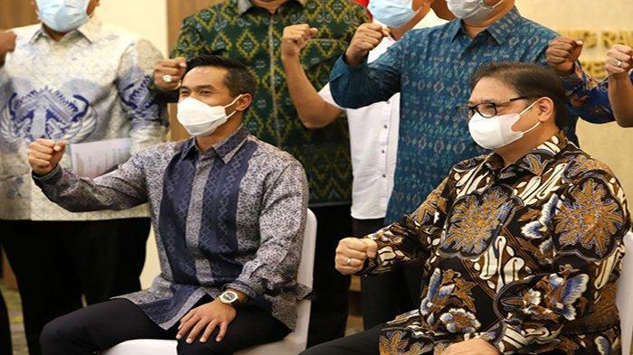 Lakukan Pertemuan, Menko Airlangga Titip Pesan Untuk 24 Ketua Kadin