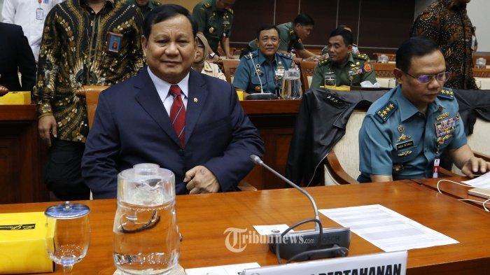 Prabowo Menteri Terpopuler dan Kinerja Terbaik Kabinet Jokowi-Ma'ruf Versi Survei Indo Barometer