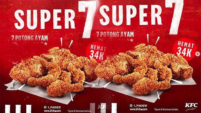 MENU KFC Super Hemat Promo KFC Jumat 24 Juli 2020 Super 7 ...