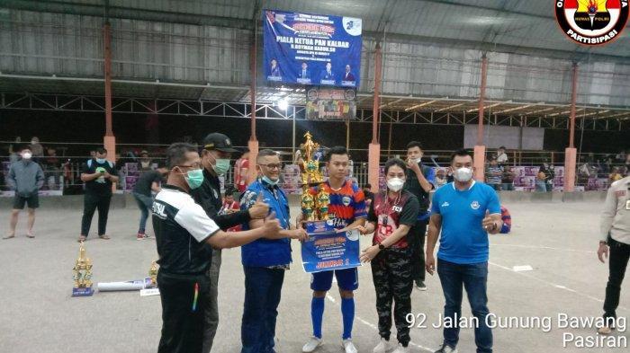 Final Pertandingan Futsal Kemerdekaan Merah Putih se Kalbar di Singkawang, SHBP Raih Juara