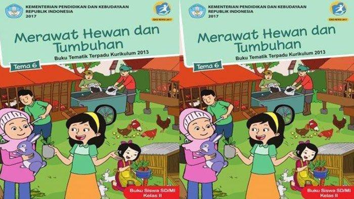 Kunci Jawaban Tema 6 Kelas 2 Halaman 120 122 123 124 Buku Tematik Siswa Tumbuhan di Sekitarku