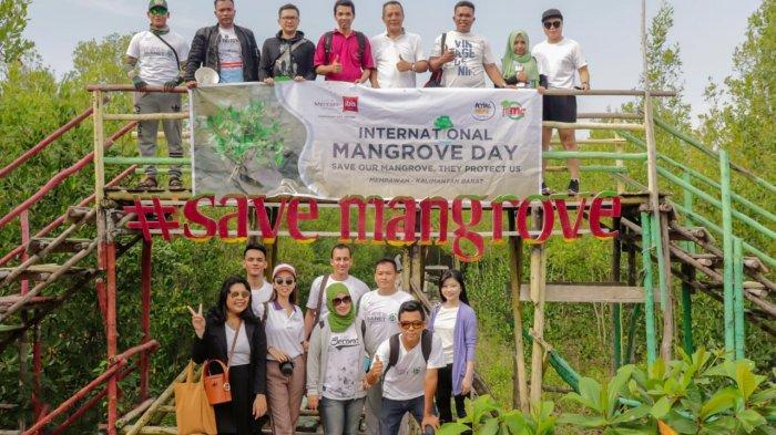 Aksi Peduli Lingkungan, Mercure-Ibis Pontianak City Center Sumbang 2.000 Bibit Mangrove