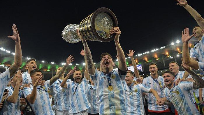 HASIL Akhir Brazil vs Argentina Final Copa America 2021, Gol Angel Di Maria Pembeda