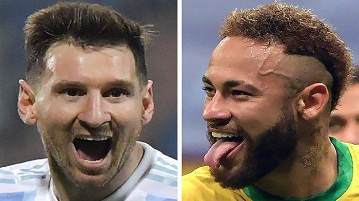 HASIL Brasil vs Argentina Copa America Hari Ini Update Skor Sementara Final Argentina vs Brasil Live