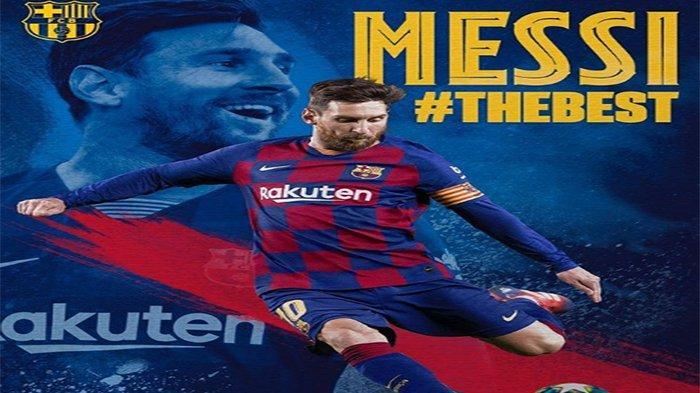 Rekor Baru Lionel Messi di Liga Spanyol, Mega Bintang Barcelona & Argentina Cetak Gol Lawan Sevilla