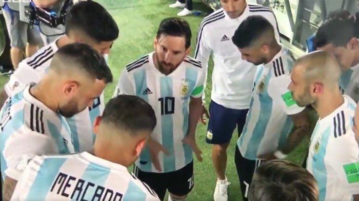 Bisikan Lionel Messi di Balik Gol Marcos Rojo, Penyelamat Timnas Argentina