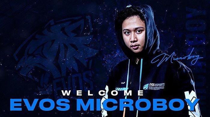 Microboy Resmi Gabung EVOS Esports, Ini Profil dan Jejak Kariernya di Dunia PUBG Mobile