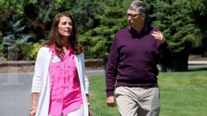 Bill Gates Cerai dengan Melinda Gates Trending Topic Twitter, Kekayaan 'Selangit' Dipertaruhkan ?