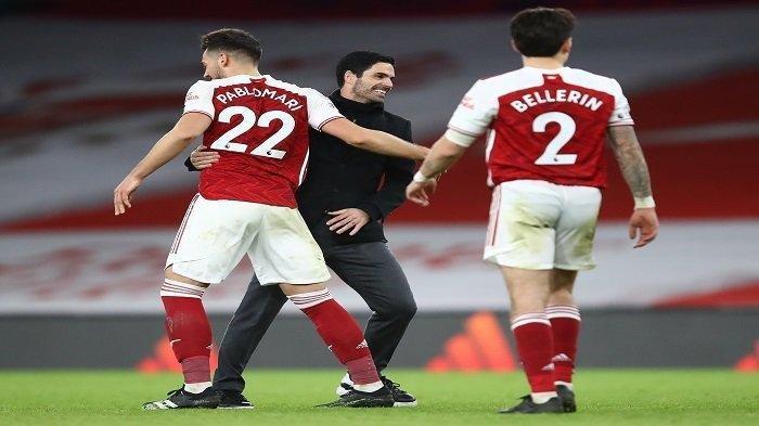HASIL dan Klasemen Liga Inggris - Arsenal & Tottenham Menang, The Gunners Bantu Man Utd Tak Disalip