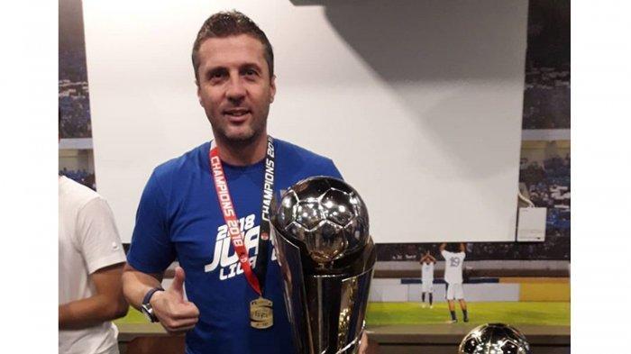 Miljan Radovic Resmi Jadi Pelatih Persib Bandung, Tugas Berat Menanti di Liga 1 dan Piala Indonesia