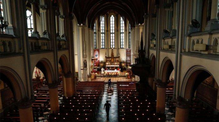 JADWAL Misa Malam Natal 2020 Gereja Katedral, Cek Link Misa Ibadah Malam Natal di TVRI dan Kompas TV