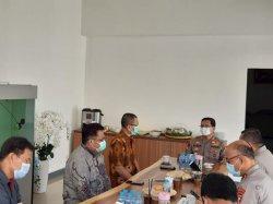 Temui Rektor Untan, Kapolda Kalbar Sampaikan Kondisi 2 Mahasiwa Pasca Aksi Tolak UU Omnibus Law
