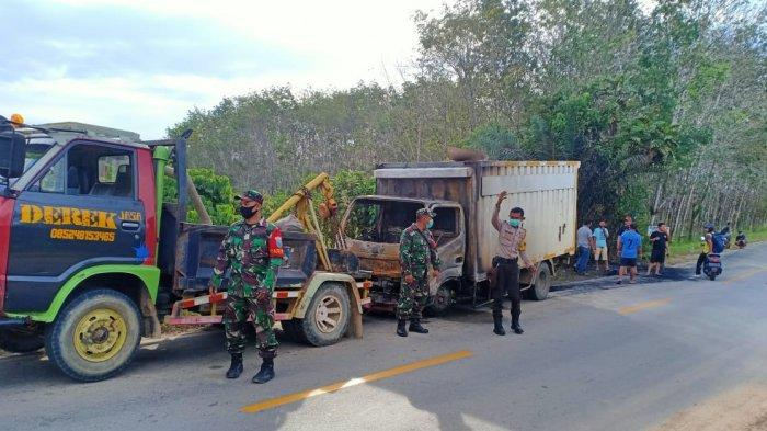 Kecelakaan Mobil Box di Jalan Raya Bodok-Sosok, Ini Penjelasan Kasat Lantas Polres Sanggau