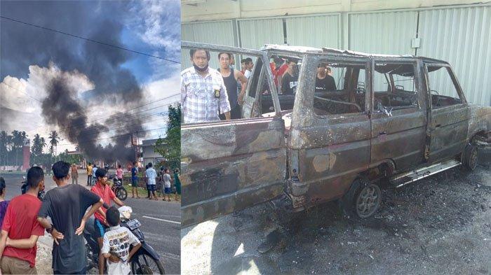 BREAKING NEWS - Mobil Terbakar di SPBU Nusapati Mempawah Kalbar, Polisi Temukan Tanki Siluman