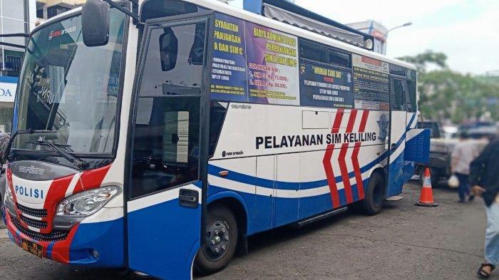 Mau Perpanjang SIM? Mobil SIM Keliling Hari Ini di Kawasan Pasar Flamboyan Pontianak