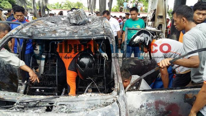 Bocah Muhaimin Tewas Terpanggang dalam Mobil yang Terbakar, Ayah Korban Trauma