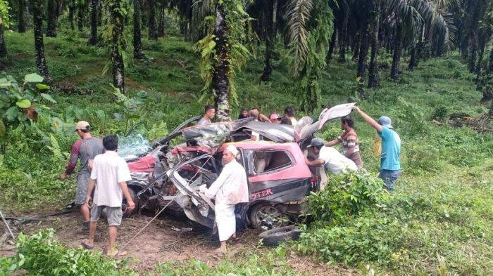 5 Orang Meninggal Dunia akibat Laka Tunggal di Semuntai Sanggau, Ini Identitas Para Korban