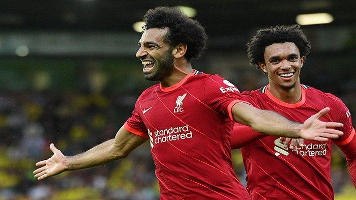 Live Hasil Liga Inggris Leeds vs Liverpool, Mohamed Salah Cetak Gol Dibabak Pertama