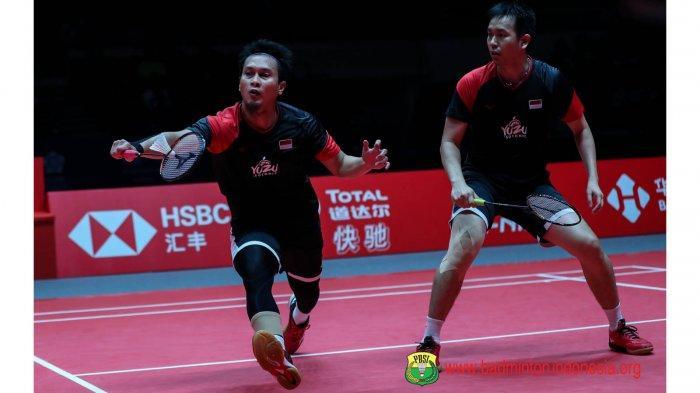 HASIL Ahsan/Hendra Semifinal Malaysia Masters 2020 - Kalah Dramatis, All Indonesian Final Batal