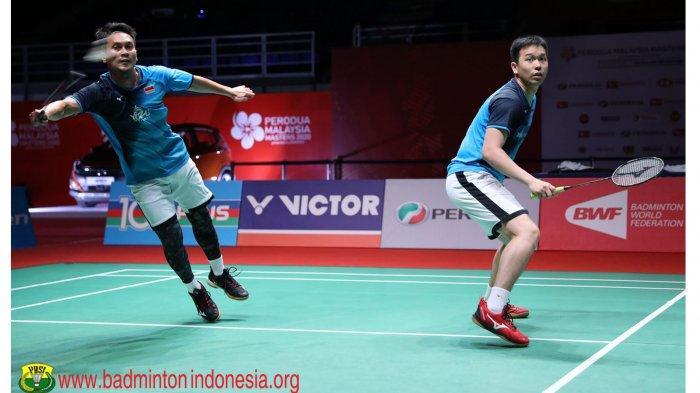 Update HASIL Malaysia Masters 2020, Ahsan/Hendra The Daddies Batal ke Final | Ujian Fajar/RiaN