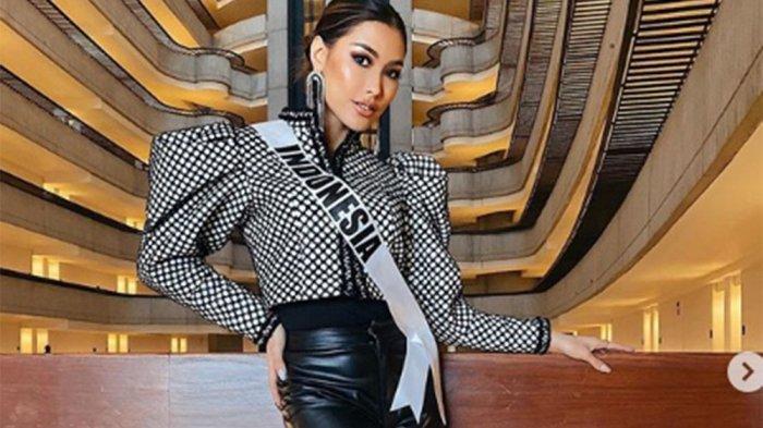 Momen Mengagetkan Frederika Cull Terpeleset di Panggung Miss Universe 2019, Tetap Tampil Memukau