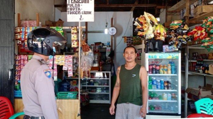 Personel Polsek Monterado Lakukan Patroli Dialogis untuk Ciptakan Kamtibmas Kondusif