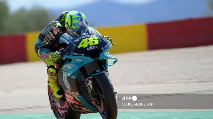 Valentino Rossi Gagal Lolos Kualifikasi Q2, Cek Hasil FP3 MotoGP Aragon 2021