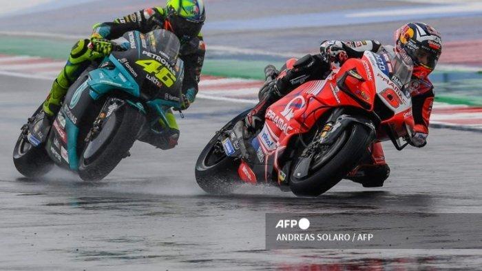 Jam Tayang MotoGP San Marino 2021 Live Trans7 Hari Ini Lengkap Posisi Start Pembalap