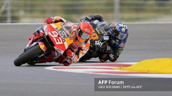 Hasil Kualifikasi MotoGP Portugal 2021 Hari Ini Pole Position dan Posisi Start Valentino Rossi