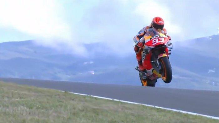 LIVE Hasil FP2 MotoGP Malam Ini - Kejutan Marquez & Rossi, Cek Hasil FP2 Latihan Bebas MotoGP Moto2