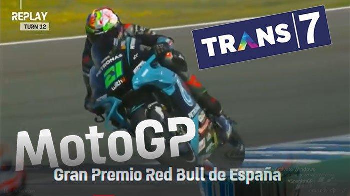 Jadwal MotoGP Trans7 Minggu 2 Mei 2021 ! Intip Jadwal GP Hari Ini di Jadwal Trans7 Hari Ini