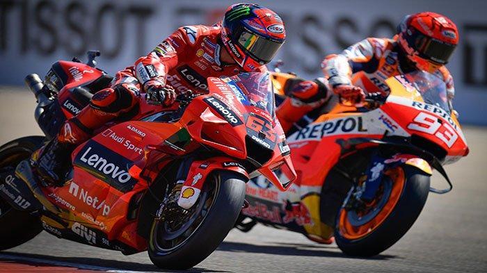 MotoGP San Marino 2021 - Masuk Kandang Rossi, Misi Marquez Balas Asapi Francesco Bagnaia