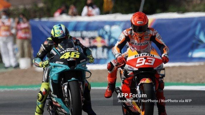 MOTOGP Styria 2021 di Jam Tayang Trans7 Live Hari Ini Minggu 11 Juli - Kejutan Marquez dan Rossi