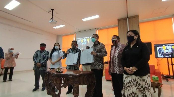 Universitas Tanjungpura Pontianak Teken MoU Bersama KI Kalbar, KPID dan Bawaslu Pontianak