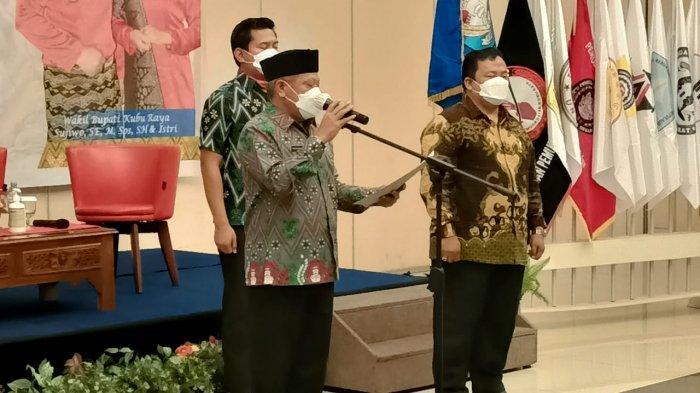 Kapolres Kubu Raya Yani Permana Hadiri Pelantikan Perkumpulan Merah Putih Kabupaten Kubu Raya