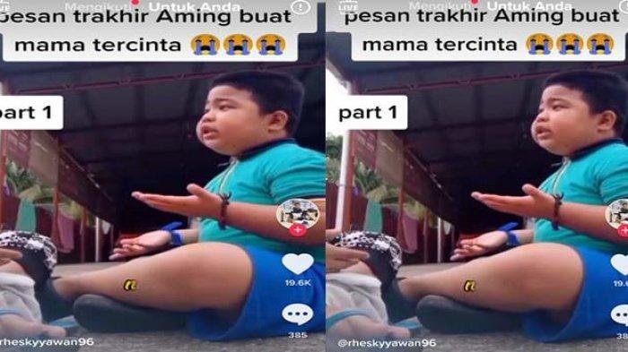 Muhammad Aming Tiktokers Peniru Ust Dasad Latif Meninggal Dunia, Video  Nasehati Ibunya Viral ! - Tribun Pontianak