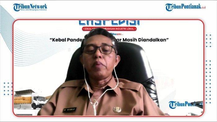 Kepala Dinas Perkebunan dan Peternakan Kalbar, Muhammad Munsif.