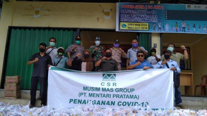 Musim Mas Grup Salurkan Paket Bantuan ke Masyarakat Sekitar Perusahaaan