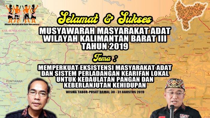 AMAN Akan Laksanakan Musyawarah Wilayah Kalimantan Barat III, Jadwalkan Tiga Agenda Berikut