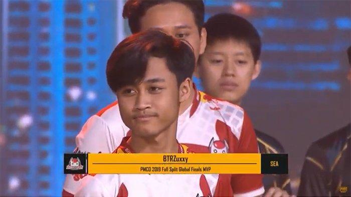 MVP! BTR Zuxxy Pemain Terbaik PMCO Fall Split 2019 Malaysia, Bawa Bigetron Juara Dunia PUBG Mobile