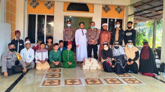 Polres Sanggau Salurkan Bantuan Beras ke Pesantren Hidayatullah Meliau
