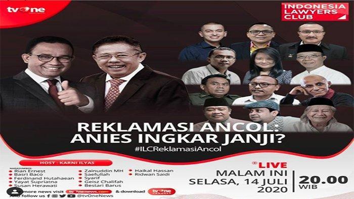HASIL ILC Tv One #ILCReklamasiAncol 14 Juli, Izin Reklamasi Ancol Dinilai Ada Potensi Masalah Hukum