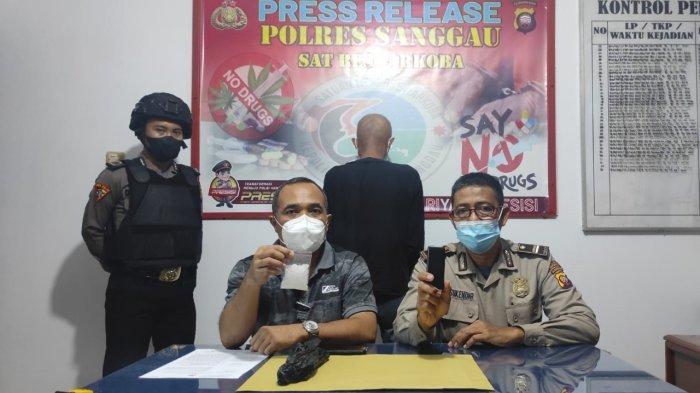 Polres Sanggau Tangkap Tersangka Kasus Narkoba, Sita Sabu 28 Gram